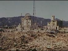 File:Physical damage, blast effect, Hiroshima, 1946-03-13 ~ 1946-04-08, 342-USAF-11071.ogv
