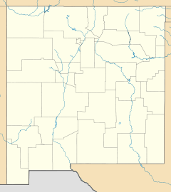 Trinity (nuclear test) is located in New Mexico