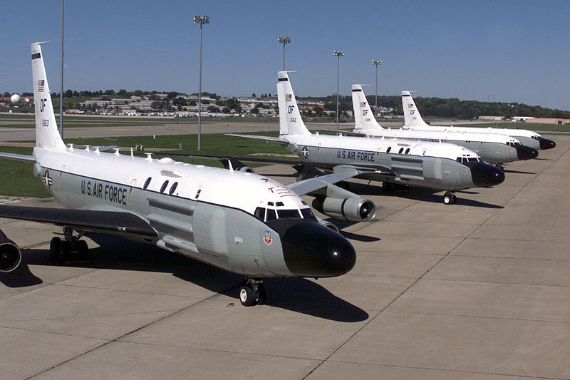 File:RC-135 Cobra Ball aircraft parked at Offutt.jpg
